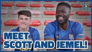 MEET THE NEW SIGNINGS: SCOTT POLLOCK AND JEMEL ONE FIVE!