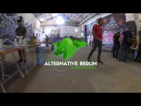 Alternative Berlin Street Art Workshop & Tour