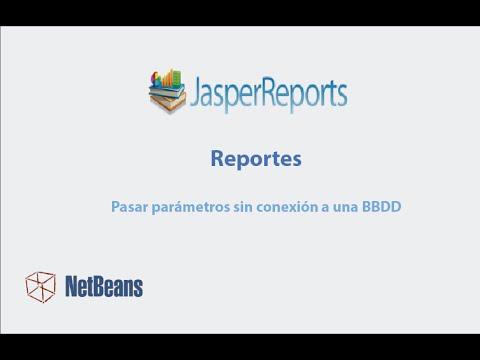 Reportes JasperReports e iReport: paso parametros sin conexion a BBDD - Netbeans 8