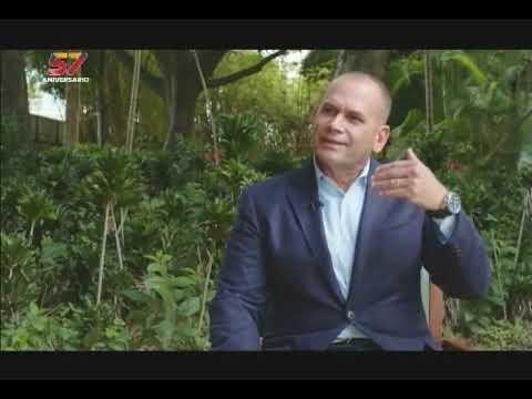 Remigio Ceballos Ichaso, ministro de Relaciones Interiores: entrevista en Aquí con Ernesto Villegas