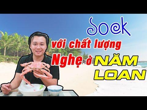 SOCK với chất lượng ghẹ ở vựa Hải Sản Tươi Sống Năm Loan - Du Lịch Ăn Uống Phan Thiết