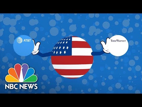 AT&T Buys Time Warner: Welcome To The Media's Merger Mania | NBC News