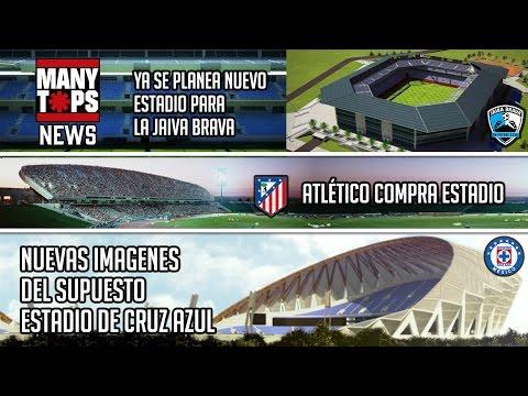 Nuevas imágenes del estadio de cruz azul - Lo ponen a limpiar 10mil butacas | Manynews 2