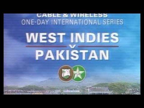 West Indies vs Pakistan 1st ODI 1993 (JAMAICA)*RARE HIGHLIGHTS*