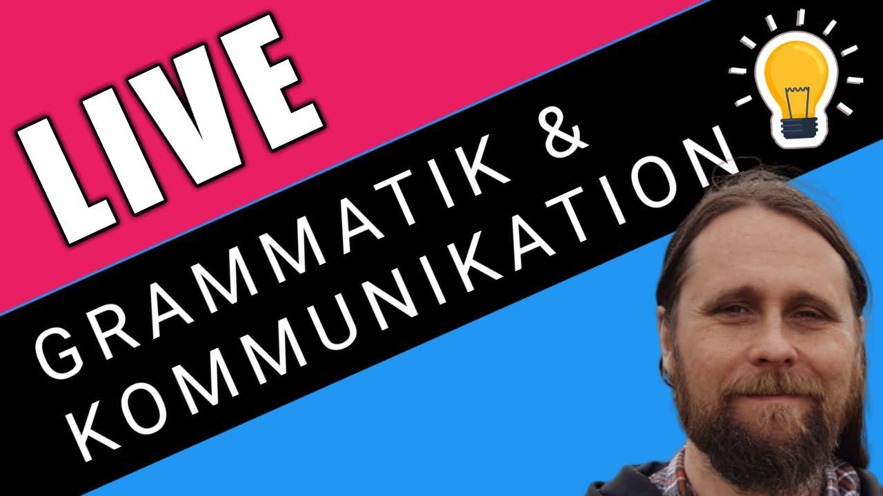 Grammatik - ett verktyg för att kommunicera, uttrycka sig exakt och få kontakt med andra .