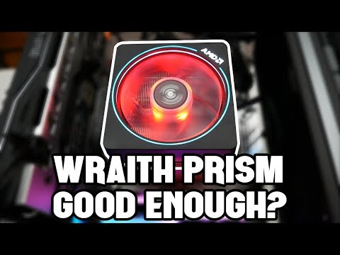 AMD's Wraith Prism Cooler - To Keep or Ditch It?