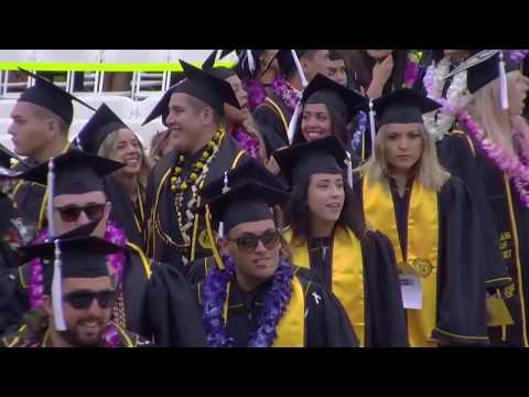 2017 CSULB Commencement - Liberal Arts Ceremony 1