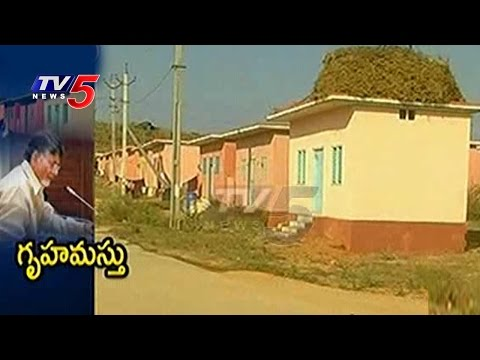 AP CM Reviews Housing Department | 55000 Houses Sanctioned Under NTR Rural Housing Scheme | TV5 News