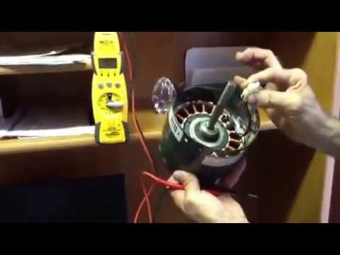 HVAC Service Troubleshooting a ECM motor YouTube