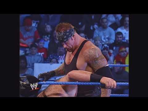 The Undertaker w Nathan Jones vs ATrain w Big