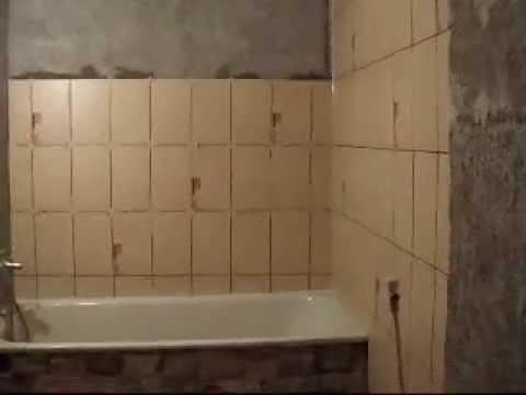 Imagini baie cu gresie si faianta de culoare crem bej for Gresie si faianta baie