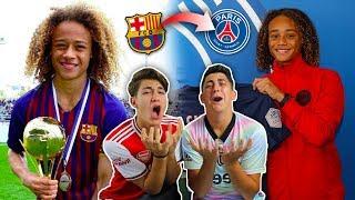 PSG nos ROBA a XAVI SIMONS.. *futura estrella del fútbol*