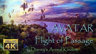 AVATAR Flight of Passage On Ride Ultra HD 4K POV with Queue Walt Disney World Animal Kingdom