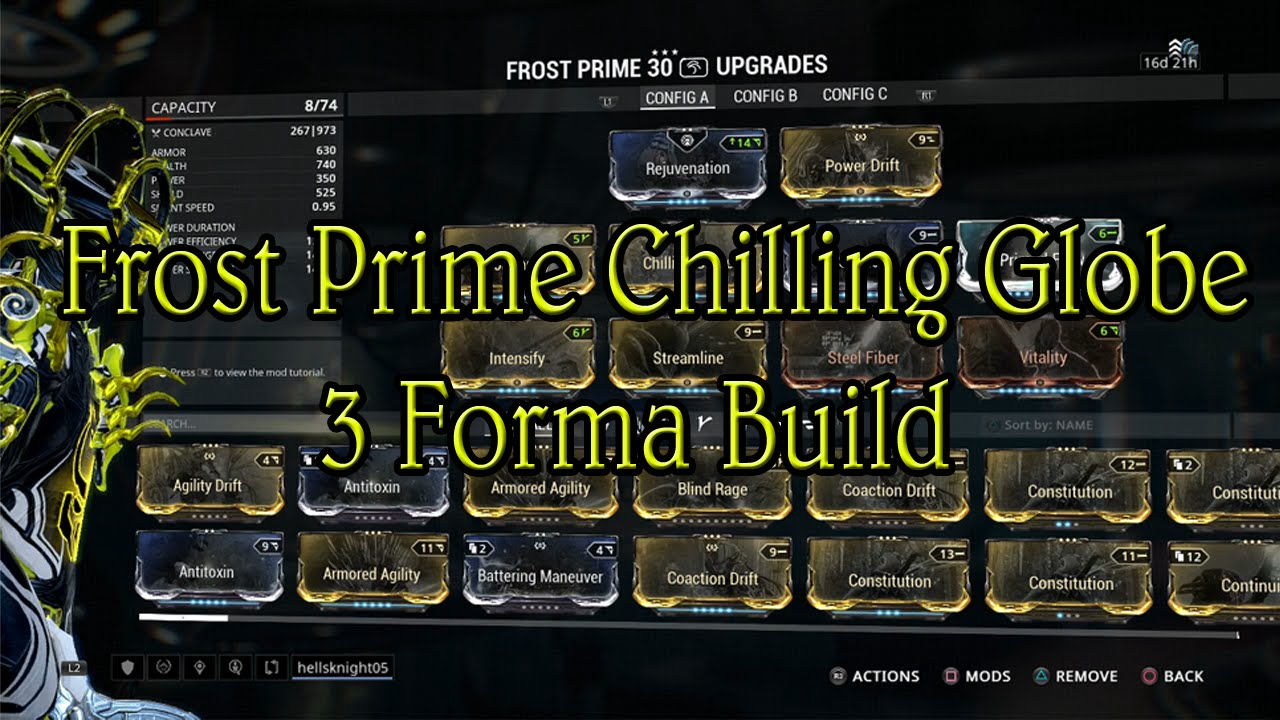 warframe how to get frost prime free