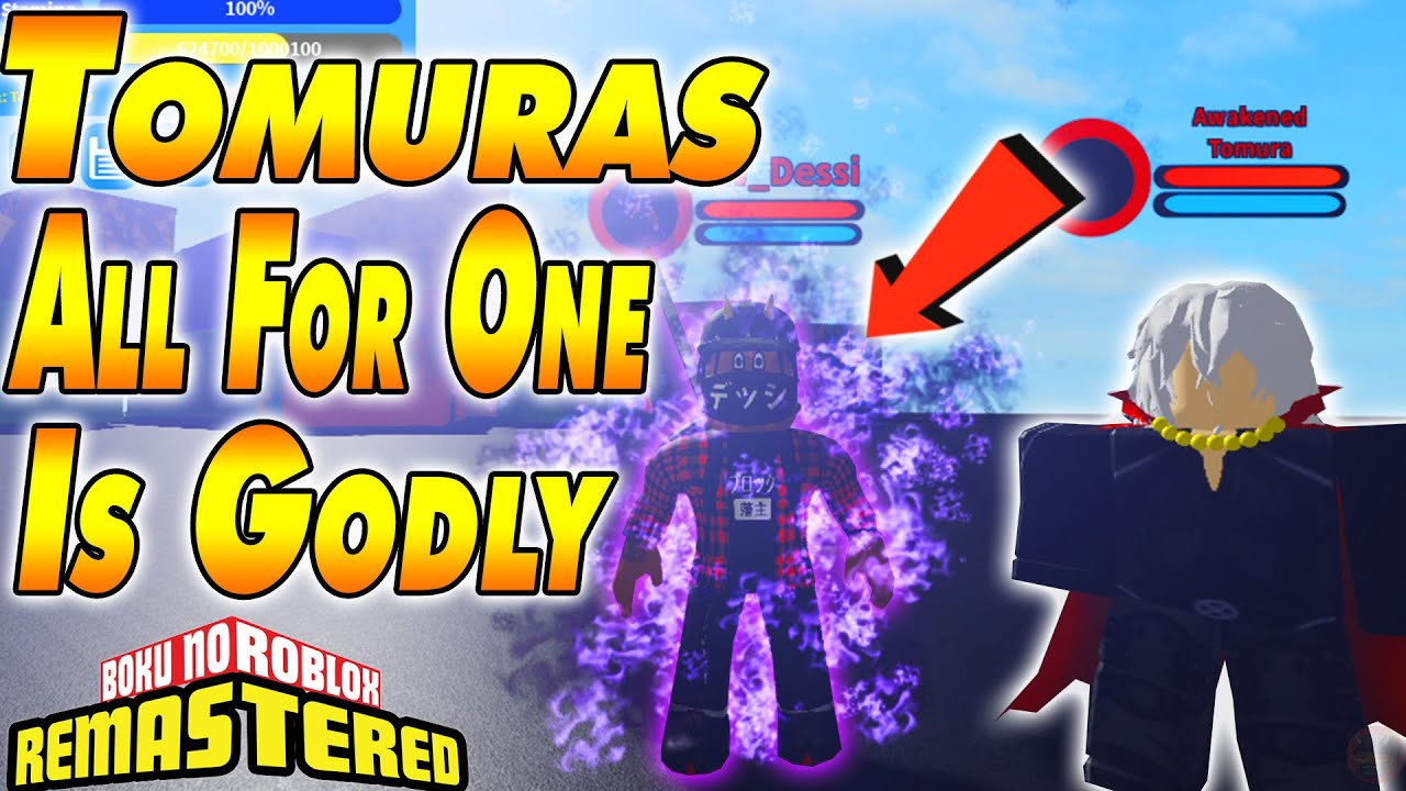 Download [NEW CODE] NEW TOMURA ALL FOR ONE QUIRK IS GODLY | Boku No Roblox Remastered
