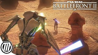 GENERAL GRIEVOUS GAMEPLAY! - Star Wars Battlefront 2 Live Stream