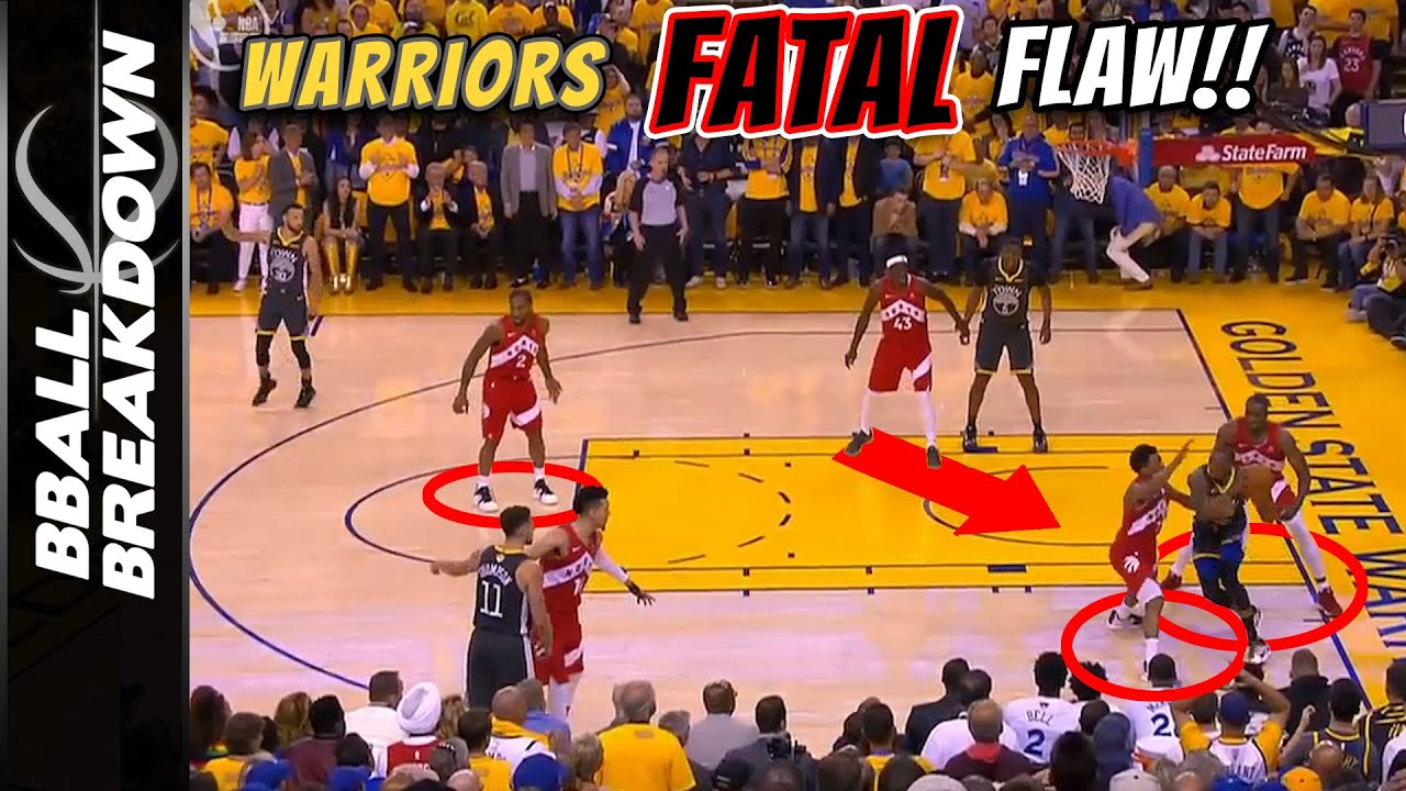 2019 NBA Finals Game 4: Raptors Exploit The Warriors Fatal Flaw