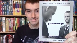 Furious 7 Wal Mart Exclusive Blu-Ray Unboxing