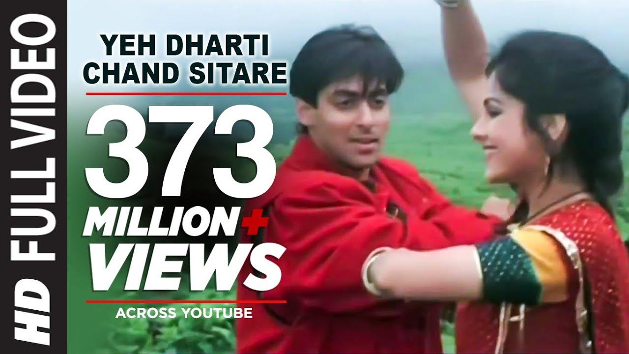 Yeh Dharti Chand Sitare Full HD Song | Kurbaan | Salman Khan, Ayesha Jhulka #1