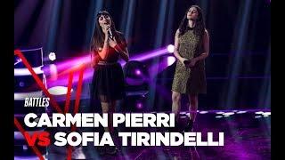 "Carmen e Sofia  ""Hola"" - Battles - TVOI 2019"