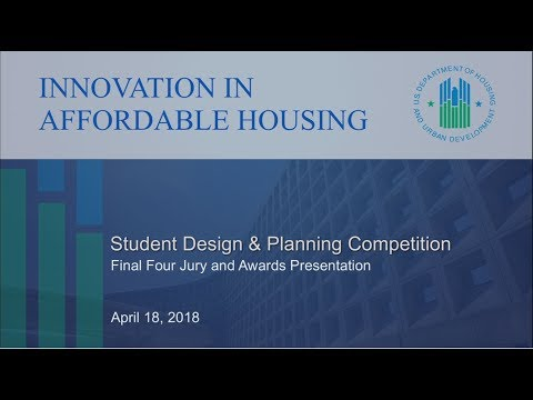 2018 IAH Student Design and Planning Competition