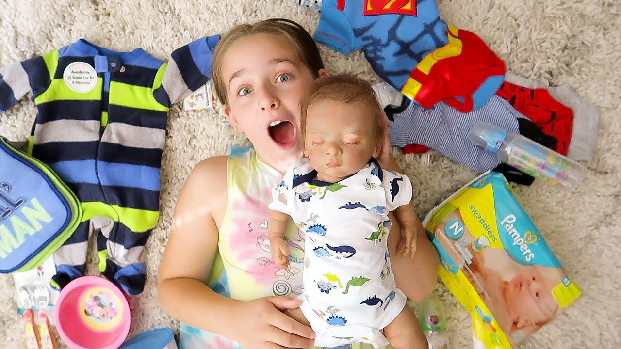 HUGE Reborn Baby Doll Shopping HAUL from Walmart Reveal ...