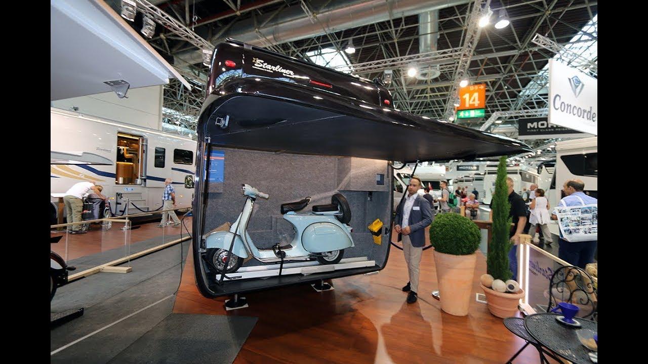 Hangar Camping Car maurer starliner 26 mb-s: un camping-car vraiment original - youtube