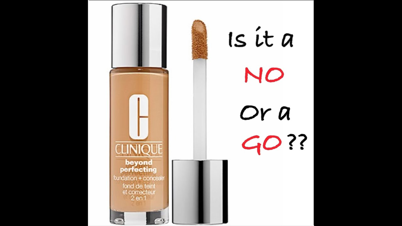 NEW Clinique Beyond Perfecting Foundation/Concealer First ...