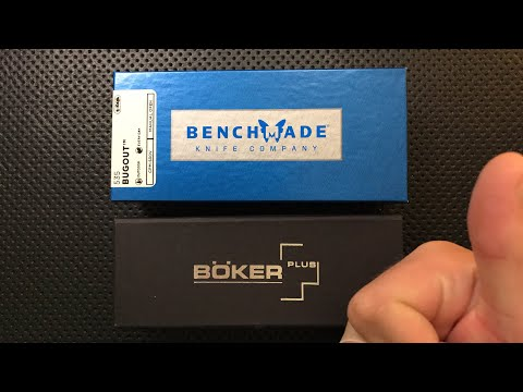Benchmade Bugout and Boker Lancer LIVE Unboxing, and Ask the Nick!