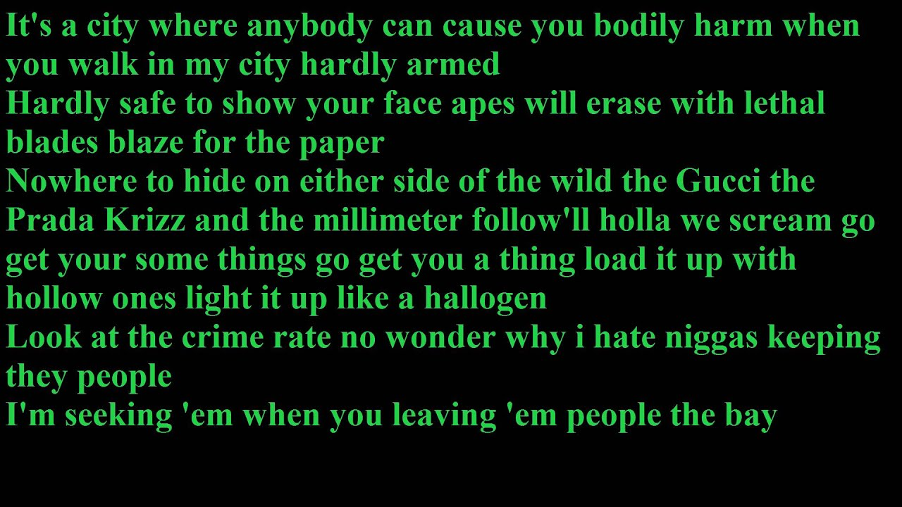 Tech N9ne - Welcome to the midwest [LYRICS] - YouTube
