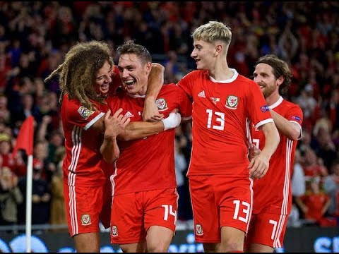WALES 🏴󠁧󠁢󠁷󠁬󠁳󠁿 V REP OF IRELAND 🇮🇪 WALES GOALS