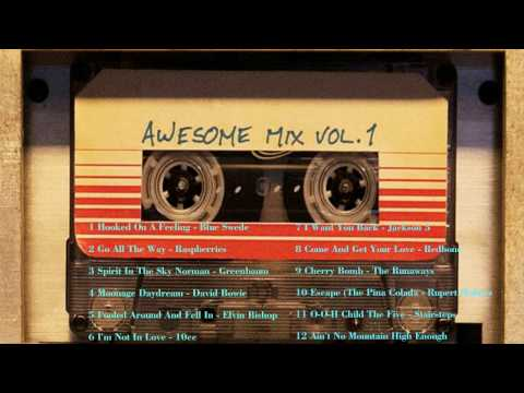 Guardians of the Galaxy Awesome Mix Vol 1 Soundtrack