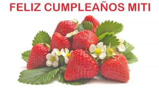 Miti   Fruits & Frutas - Happy Birthday