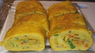 Egg Roll Omelette Recipe | Omelet Egg Roll Recipe | Punjabi Style Recipe