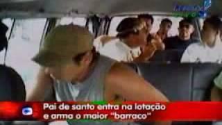 Pegadinha do João Kleber PAI DE SANTO NA VAN