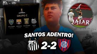 Santos 2 San Lorenzo 2 | Reacciones De Un Hincha De Boca | Copa Libertadores 2021