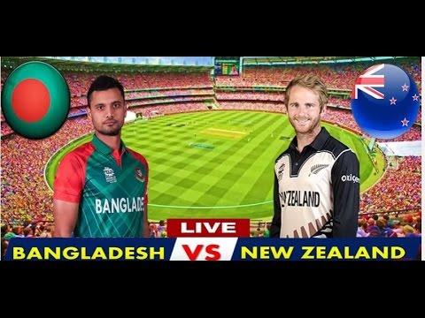 Bangladesh Vs New Zealand Full Match Online - Youtube Live Streaming