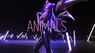 """ANIMALS"" - Kai'Sa Montage Featuring : DKiNG 