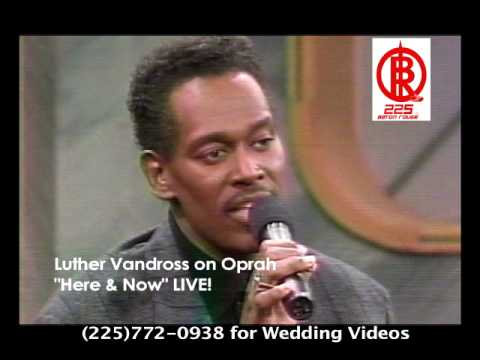 Luther Vandross-Here & Now-LIVE! 1989 (Rare)