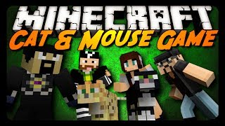 Minecraft: CAT & MOUSE! (BRAND NEW Mini-Game)