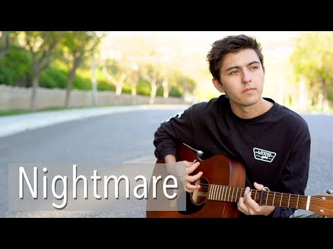 Nightmare by Halsey  acoustic cover by Kyson Facer