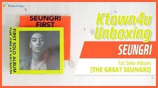 Baixar [Ktown4u Unboxing] BIGBANG SEUNGRI - 1st Solo [GREAT SEUNGRI] 빅뱅 승리 언박싱