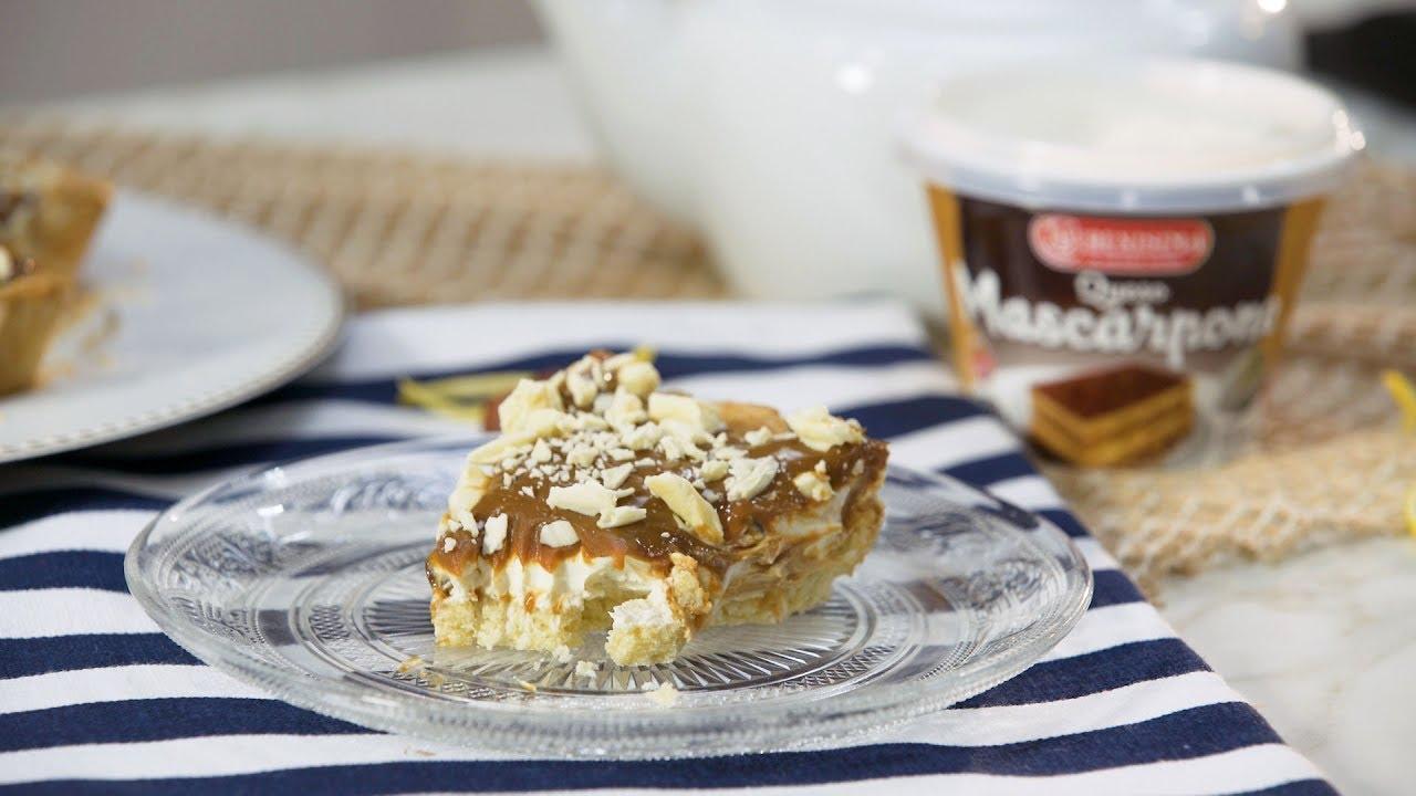 Resultado de imagen para Torta de Mascarpone y Dulce de Leche | La Serenísima