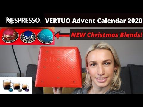 NESPRESSO Coffee Advent Calendar Unboxing 2020 | Vertuo