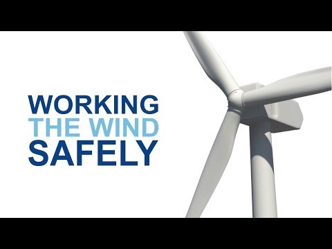 Working the wind safely - An induction video for wind energy workers