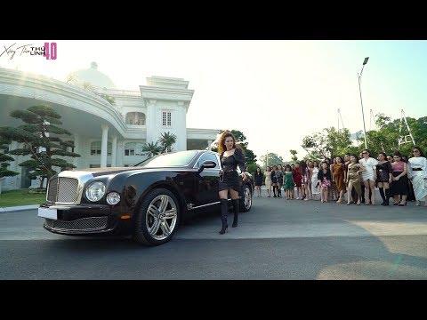 Xứng tầm thủ lĩnh 4.0: Pose dáng cùng siêu xe Bentley Mulsanne | Đào Minh Châu