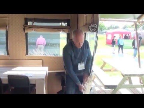 Caravan Finder TV Visits the Glamping Show at Kennilworth