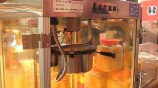 業務用の機械で作る、香ばしくておいしいキャラメルポップコーンの作り...