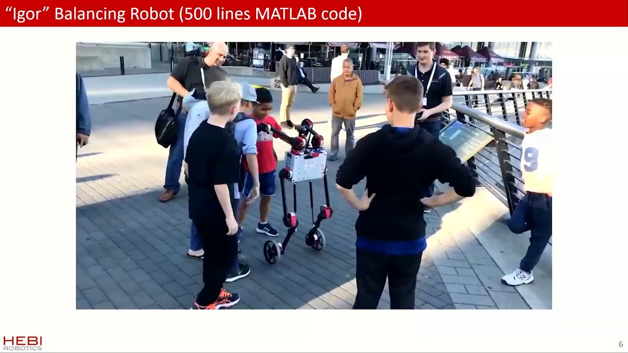Achieving Real-Time Robotics Control with MATLAB