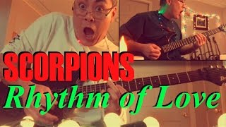 "(Solo = 2:16) Guitar Cover Video of ""Rhythm of Love"" by Scorpions, ..."
